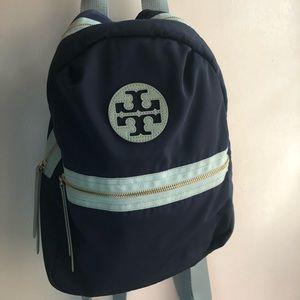 Tory Burch Navy Blue backpack